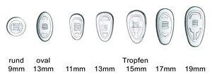 2-Paar-4-Stueck-Nasenpads-Brillenpads-Silikon-Schraubsystem-versch-Groessen
