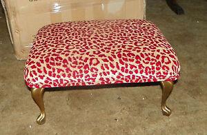 Gold-Painted-Metal-Leg-Footstool-Stool-ST84