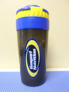 GASPARI-SHAKER-PRO-40-Blender-Mixer-Bottle-Cup-20-OZ-HOLDS-PROTEIN-SEPARATELY