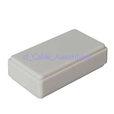5pcs New White Plastic Project Box Electronic Case DIY - 14x27.5x49.5mm Hot