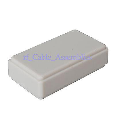 "5pcs New White Plastic Project Box Electronic Case DIY -1.94""*1.08""*0.55""(L*W*H)"