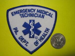 Pennsylvania ems patches paramedic