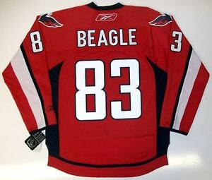 JAY-BEAGLE-WASHINGTON-CAPITALS-REEBOK-NHL-PREMIER-HOME-JERSEY-NEW-WITH-TAGS