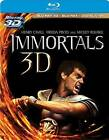 Immortals (Blu-ray Disc, 2012, 3-Disc Set, Includes Digital Copy; 2D/3D)