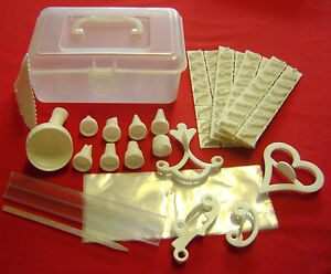 Bags For Cake Decorating : NEW 100 PIECE CAKE DECORATING KIT IN BOX. ICING BAGS ...