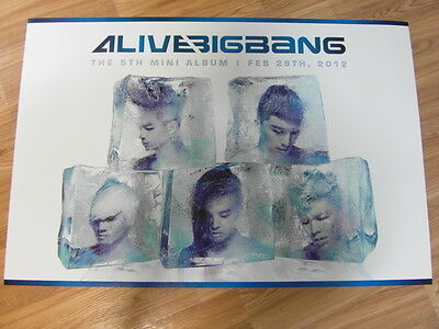 BIGBANG - ALIVE 5TH MINI ALBUM [ORIGINAL POSTER] K-POP
