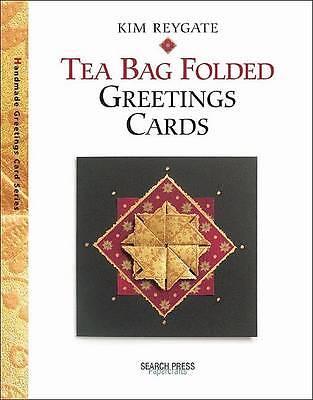 """AS NEW"" Tea Bag Folded Greetings Cards, Reygate, Kim, Book"