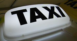 TAXI-SIGN-WHITE-19-034-MAGNETIC-ROOF-SIGN-LED-LIGHTS