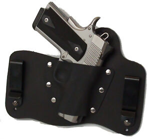 Foxx Leather Kydex IWB Holster Kimber 1911 Ultra Carry II ...