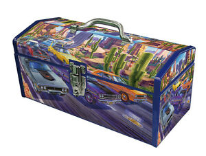 MoPar-Fan-034-Beep-Beep-034-Art-Deco-Steel-Tool-Box-Hot-Rod-Muscle-Car-CYBER-SPECIAL