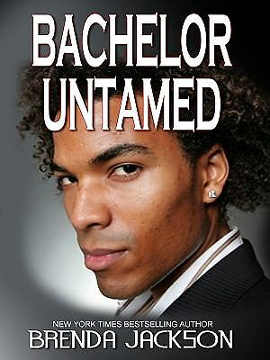 Bachelor Untamed By Brenda Jackson 2010 Hardcover Large Type Ebay