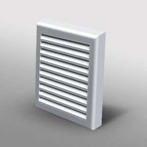 Wall Vent Ducting Soffit Grille Cover Bathroom Extractor ...