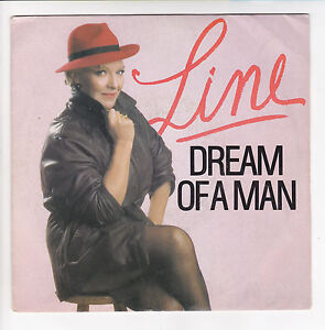 LINE-RENAUD-Vinyle-45-tours-SP-7-034-DREAM-OF-A-MAN-FRANCEVAL-741-005-STEREO-RARE