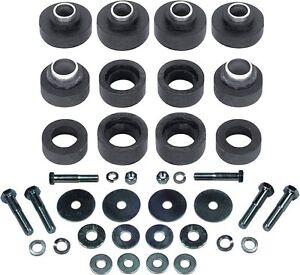 73-81-Camaro-Subframe-Bushings-Body-Mount-Bushing-Kit-with-Hardware-New