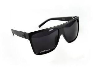 Retro-Black-Madness-Oversized-Wayfarer-Mens-Womens-Classic-80s-Style-Sunglasses