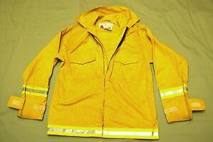 Firefighter Wildland Brush Fire Jacket W Reflector Stripes