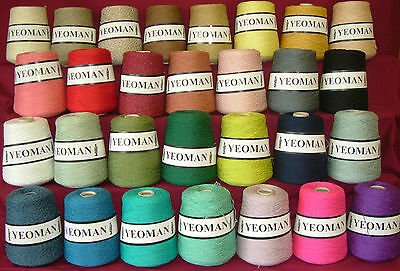 Yeoman Panama Yarn 50% Cotton 50% Acrylic 500g 4ply Choice of Colours