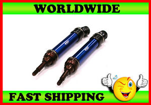Integy-XHD-Steel-Front-Universal-Drive-Shaft-Blue-1-10-Slash-4X4-amp-Stampede-4X4