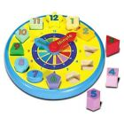 Melissa and Doug Wooden Shape Sorting Clock