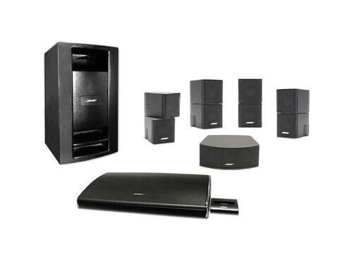 bose lifestyle v35 5 1 channel home theater system ebay. Black Bedroom Furniture Sets. Home Design Ideas