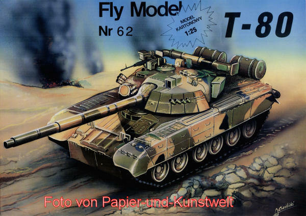 FLY Model  62 - Panzer T-80 - 1:25
