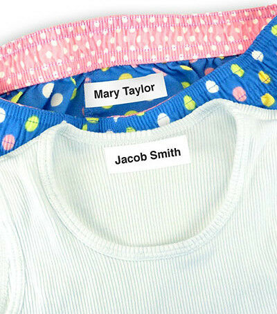 75 of the Best Iron-On Clothing Labels for Camp, School, Daycare & Nursing Homes