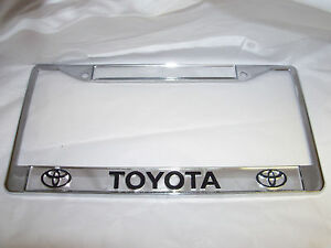 image is loading toyota license plate frame brand new