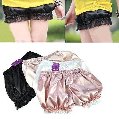 Women Nice Safety Lace Shorts Trousers Leggings Pants 4 Colors E696