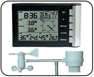Digitale-Funk-Wetterstation-034-CTW-600-034-Thermo-Feuchte-Wind-Regen-Messung