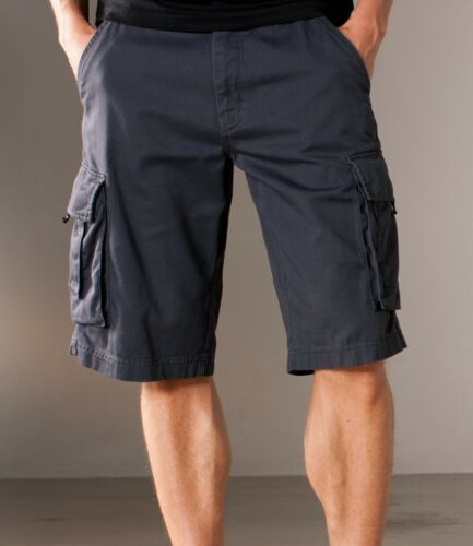 Men/'s Kariban Trekker Cargo Shorts Black Grey Navy Light Olive KB777