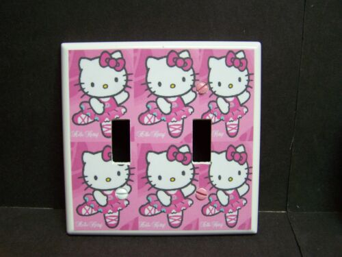 HELLO  KITTY # 1 PINK  LIGHT SWITCH COVER PLATE OR OUTLET COVER