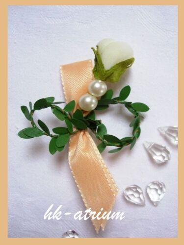 Anstecker Hochzeit Gästeanstecker Hochzeitsanstecker Büscherl 14 Farben Buchs