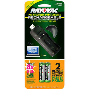 Rayovac-PS19-Rechargeable-USB-Battery-Charger-With-2-AA-NIMH-Batteries