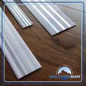 Carpet cover door strip