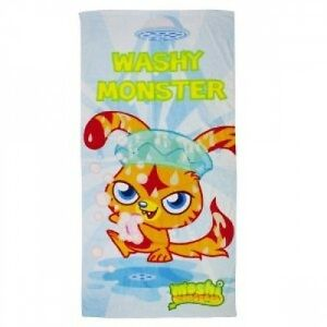 NEW-MOSHI-MONSTERS-BEACH-BATH-TOWEL-BOYS-AND-GIRLS-CHILDREN-NOVELTY
