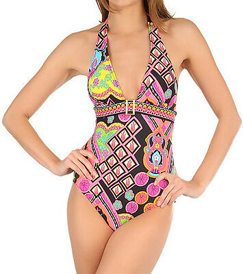 NWT $156 Women's Trina Turk 2012 Marrakesh Express One Piece Swimsuit