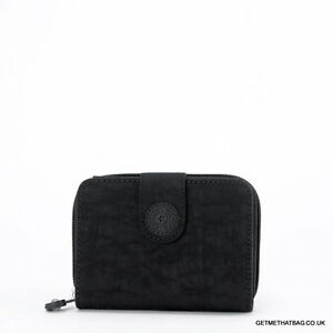 BNWT-Kipling-New-Money-Medium-Purse-Wallet-Black-RRP-35