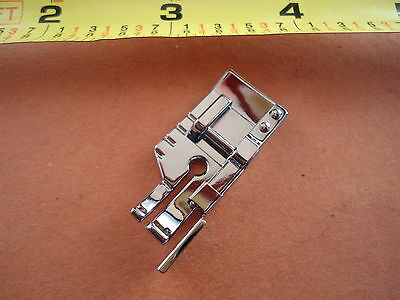 "1/4"" Snap-On Quilting Patchwork Foot w Guide Bernette Viking Husqvarna Huskystar"