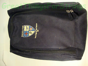 Knights-of-York-2007-Small-Luggage-Bag-Black-Heritage-Golf-Zipper-Flat-Patch