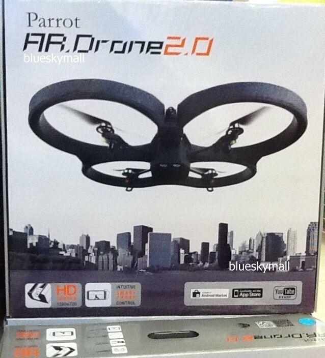 Parrojo ar Drone 2.0 quadrocopter mando a distancia del idevice