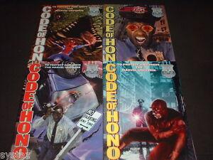 CODE-OF-HONOR-1-4-SET-DAREDEVIL-SPIDER-MAN-THOR-1-2-3-4-BOOKS-TOTAL-RUN-LOT