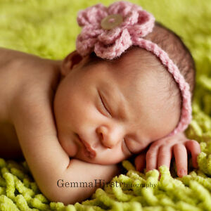 Flower-headband-Handmade-Crochet-Newborn-onwards