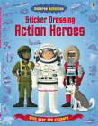 Sticker Dressing Action Heroes by Usborne Publishing Ltd (Paperback, 2012)