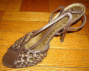 Bcbg Girls Women 039 S Heels Shoes Size 7 5 Leather Brown