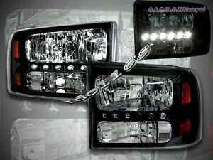 99-04-F250-F350-SUPERDUTY-00-05-EXCURSION-LED-HEADLIGHTS-CORNER-BLACK