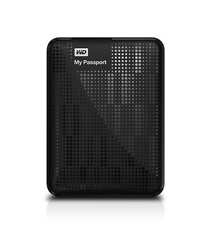 Western Digital My Passport 2 TB USB 3.0/2.0 High Capacity Portable Hard Drive