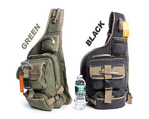 New Military Style Cotton Canvas Backpack Sling Bag, Bicycle Bag ...