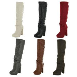 Michael-Antonio-Baldwin-Women-039-s-Knee-High-Boots-Riding