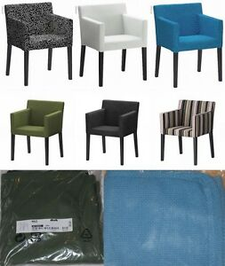 Ikea Nils Chair With Armrests Slipcover Cover Korndal