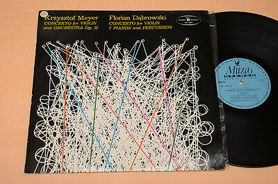 KRZYSZTOF MEYER LP-ELECTRONIC MUSIC AVANTGARDE TOP EX+ !!!